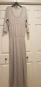 Splendid. grey maxi dress